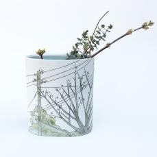 large tree vase